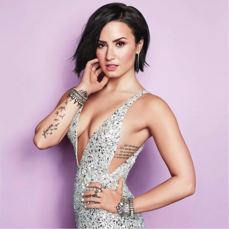 Okay, Demi Lovato, I'll Admit it - That's a Pretty Cute Tattoo
