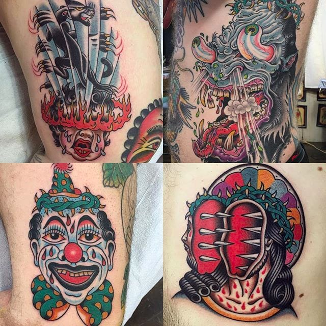 Awesome Eccentric Tattoos by Gregory Whitehead
