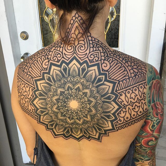Ornate Patternwork Tattoos by Ian Lutz