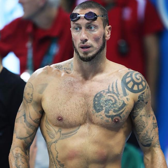 A Closer Look at Some of the Tattooed Athletes of Rio 2016