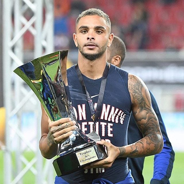 Layvin Kurzawa Has Finished his Front Tattoo and it's Awesome!
