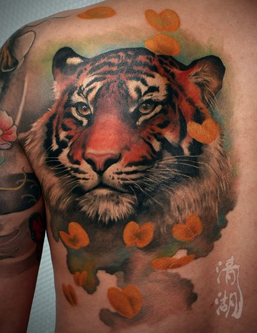 15 Fierce Tiger Tattoos