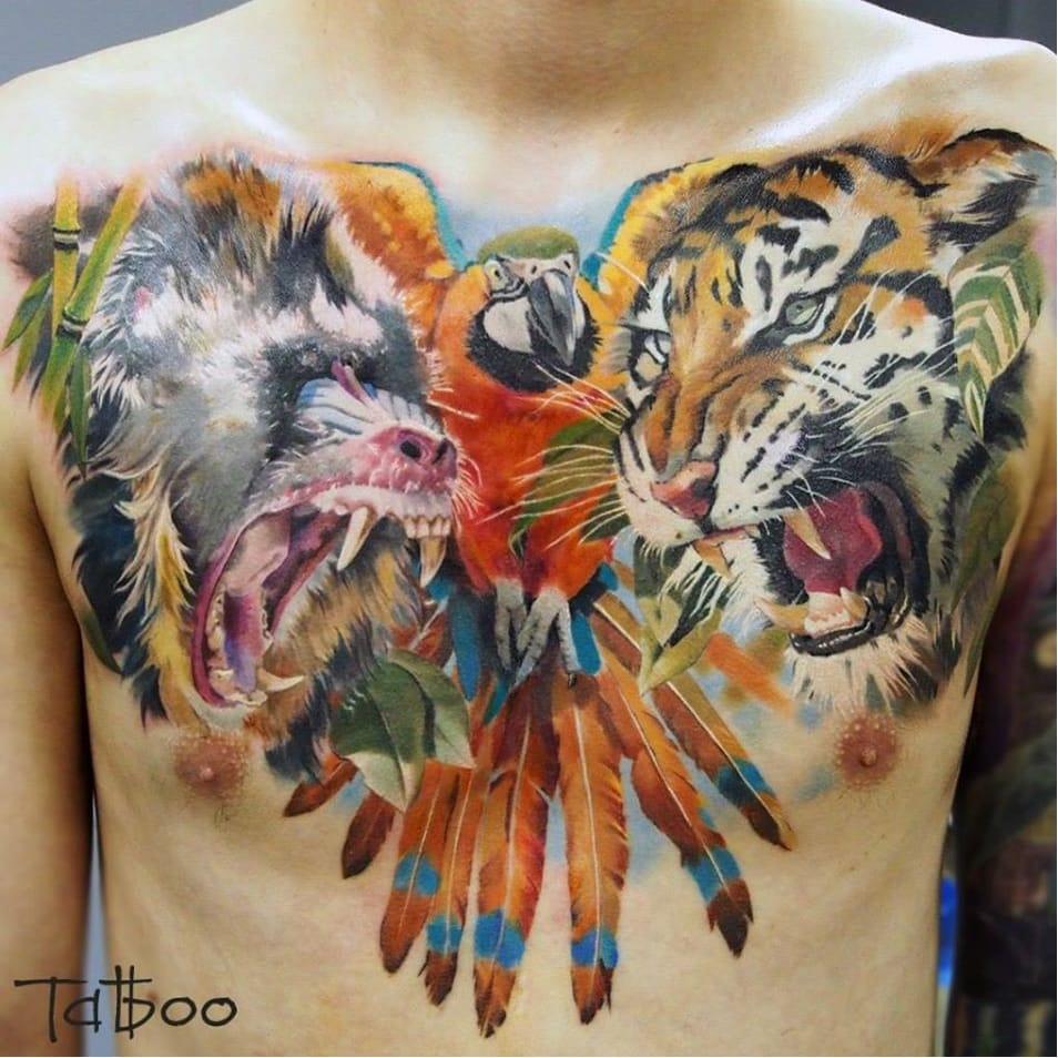 13 Tatuagens Realistas Fenomenais De Valentina Ryabova (Parte 2)