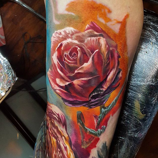 Sensational Color Realism Tattoos by Dmitry Vision