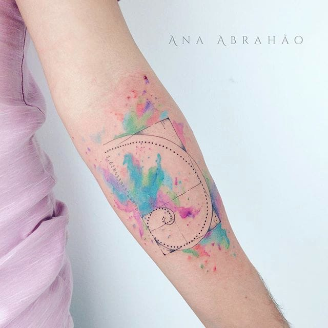 Delicate Illustrative Tattoos by Ana Abrahão