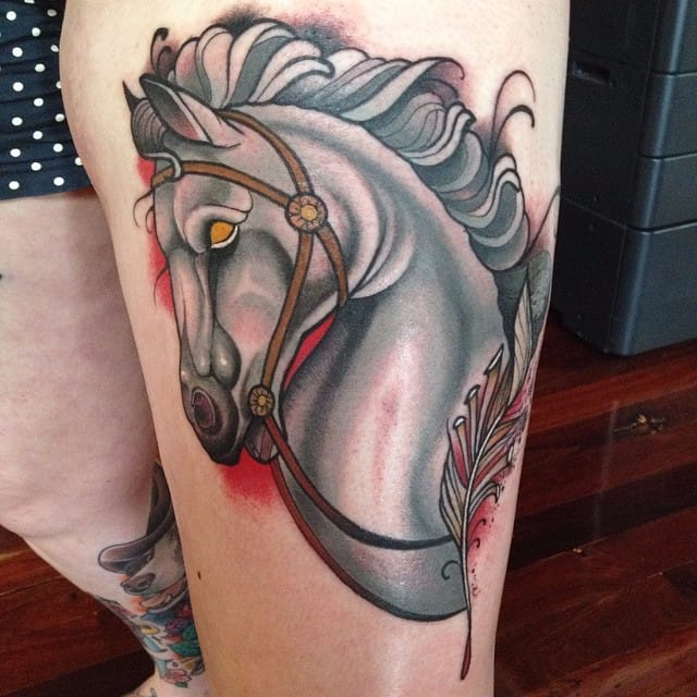 Enticing Neo Traditional Tattoos by Luca Degenerate