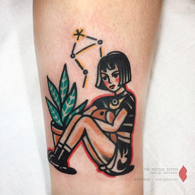 The Quirky Traditional Tattoos of Redlip Tattooer