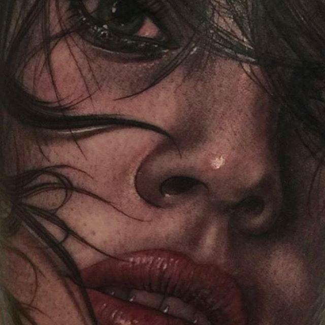 Stunning Realistic Tattoos by Fredy Tomas