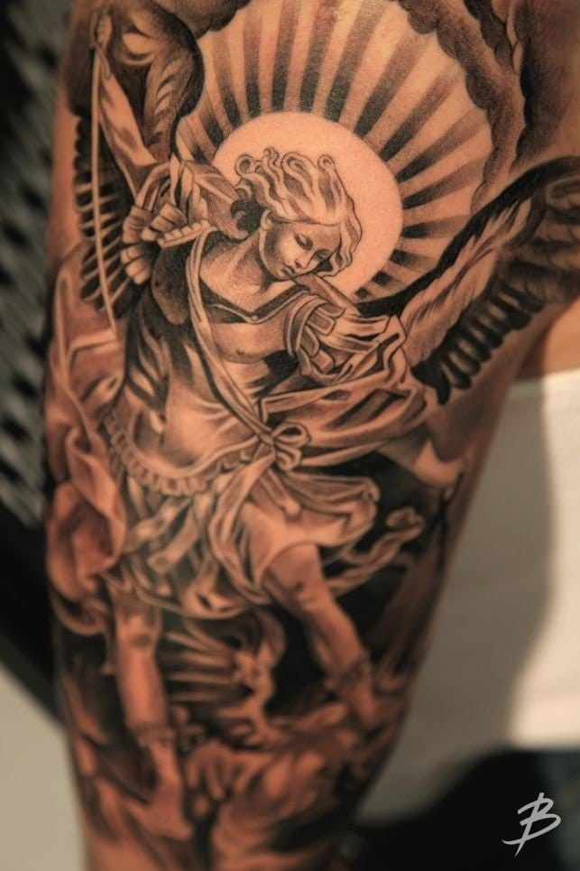 8 Powerful & Protective Archangel Michael Tattoos