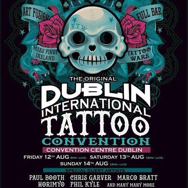 Dublin Tattoo Convention: Take a Look at the Events Highlights!