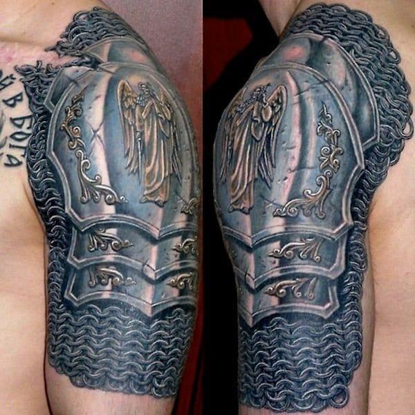 Tattoo by Dmitriy Bronya.