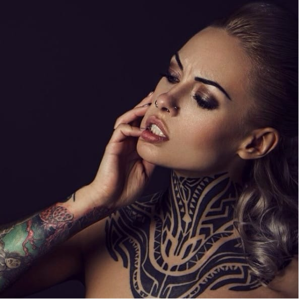Intense Neo Tribal Tattoos by Yaroslav Gorbunov