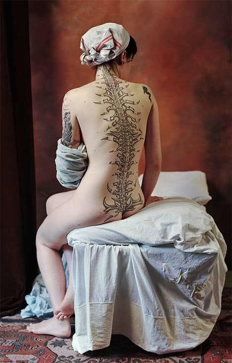 12 Bold Anatomic Tattoos