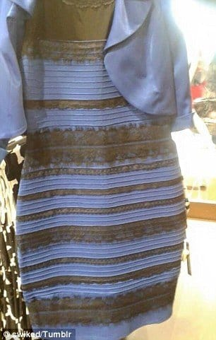 WTF Some Guy Got That Damn Dress Tattooed