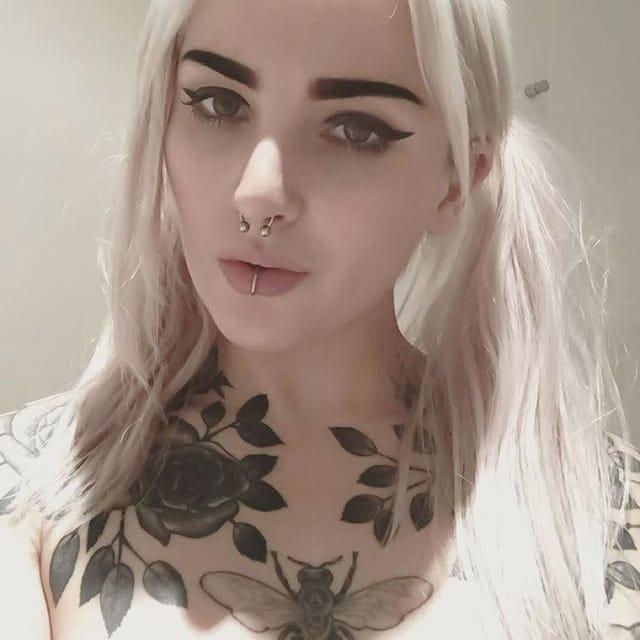 The Soulful Blackwork Tattoos of Abby Drielsma