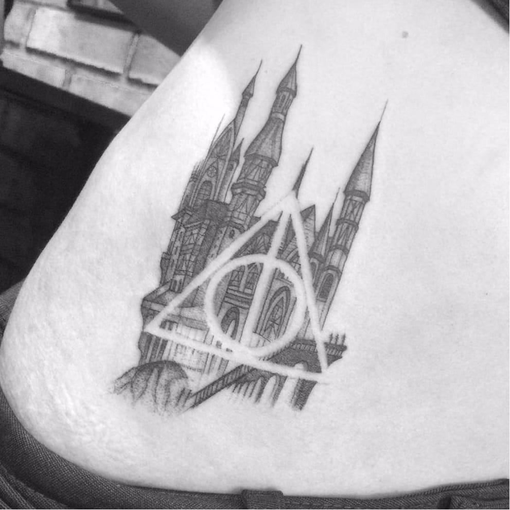13 Tatuagens Das Relíquias Da Morte Para Fãs De Harry Potter