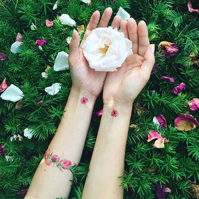 10 Talented Floral Tattoo Artists
