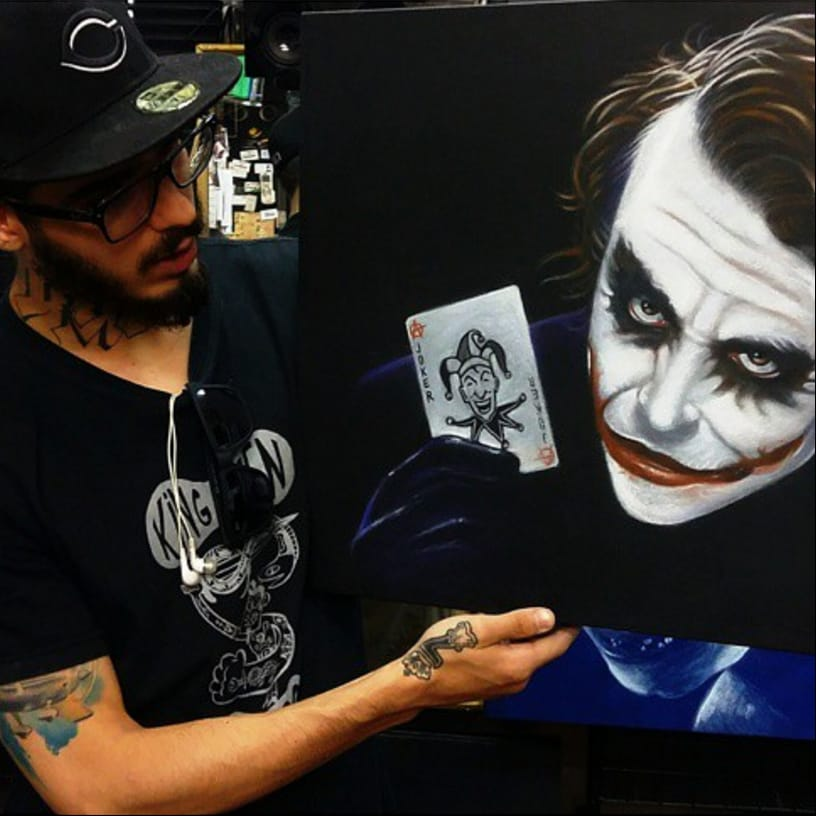 Sensational Blackwork Sketch Tattoos by Bernardo Lacerda