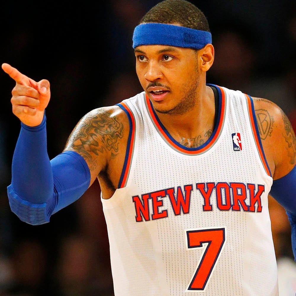 Ultimate Knicks Fan Got a Carmelo Anthony Tattoo