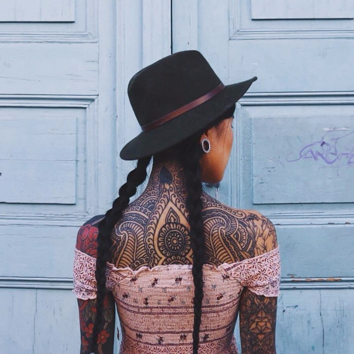 Anh Wisle: The Mystical Beauty of a Tattooed Traveller
