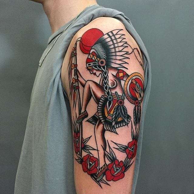 Cool and Creative Traditional Tattoos by Luke Jinks