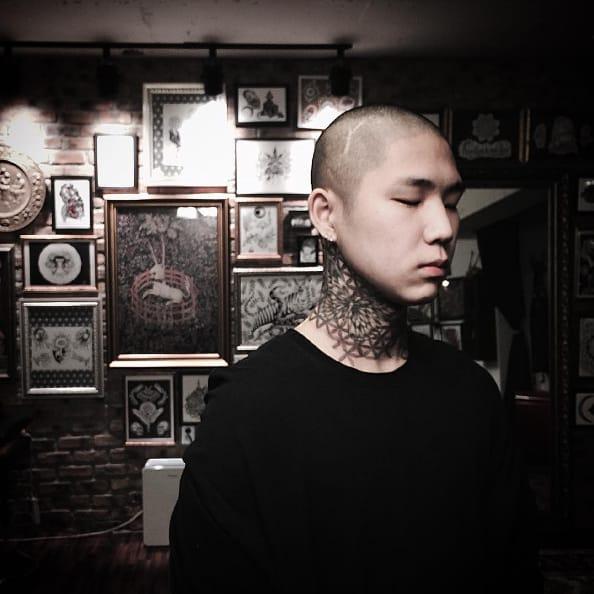 Intensely Fine Dotwork Tattoos by Kim HeyMin