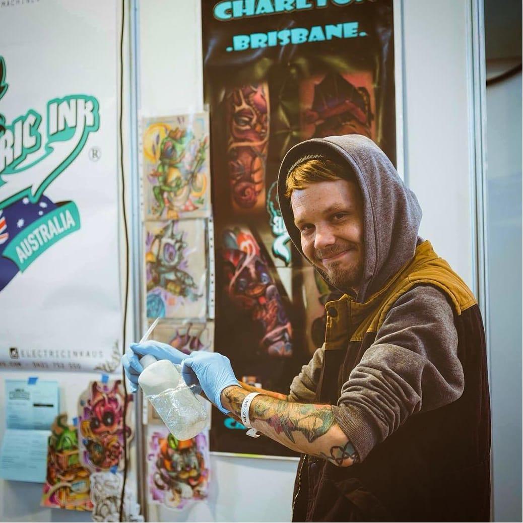 Funky New School Tattoos by Casey Charlton