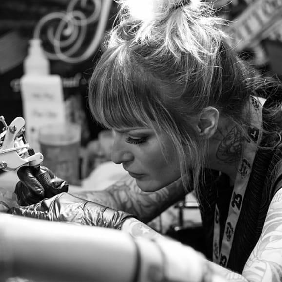 13 Irresistibly Cheeky Bum Tattoos by Guen Douglas