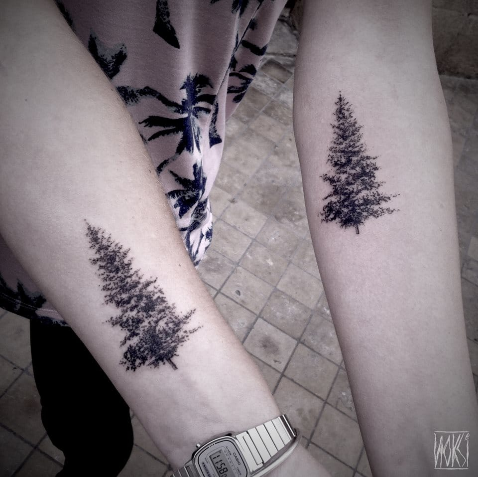 12 subtle and dainty nature tattoos tattoodo. Black Bedroom Furniture Sets. Home Design Ideas