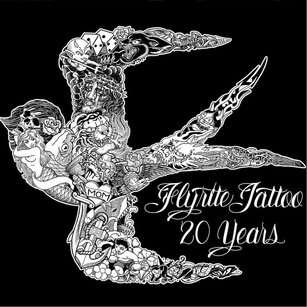Steven Huie Talks 20 Years of Flyrite Tattoo In New Anniversary Video