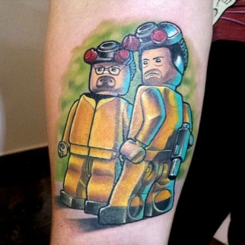 Our favorite LEGO meth cooks from Breaking Bad (Artist Unknown)