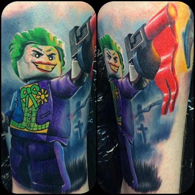 Why so serious! The LEGO Jokerdone by Max Pniewski.
