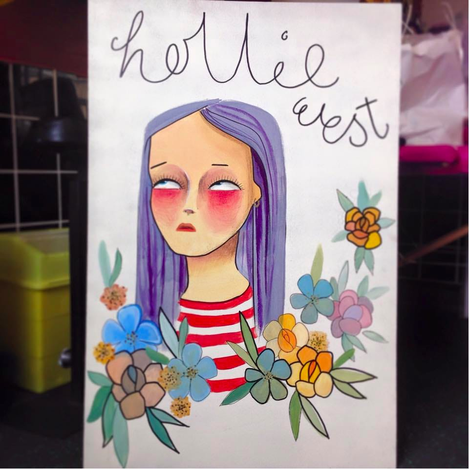 Cute Food Tattoos by Hollie West