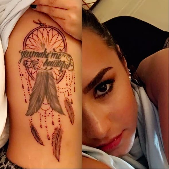 Demi Lovato Gets Cover-Ups Done By Celebrity Tattoo Artist Bang Bang