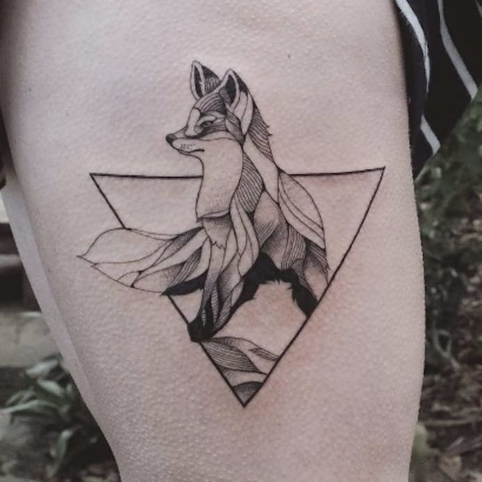 Nature and Geometry Become One With These Tattoos by Jasper Andres
