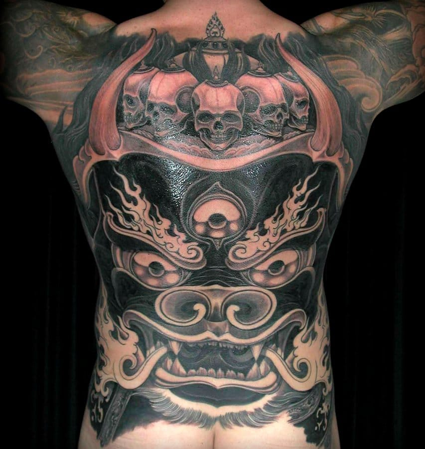 Killer backpiece by worldwide respected master Filip Leu...