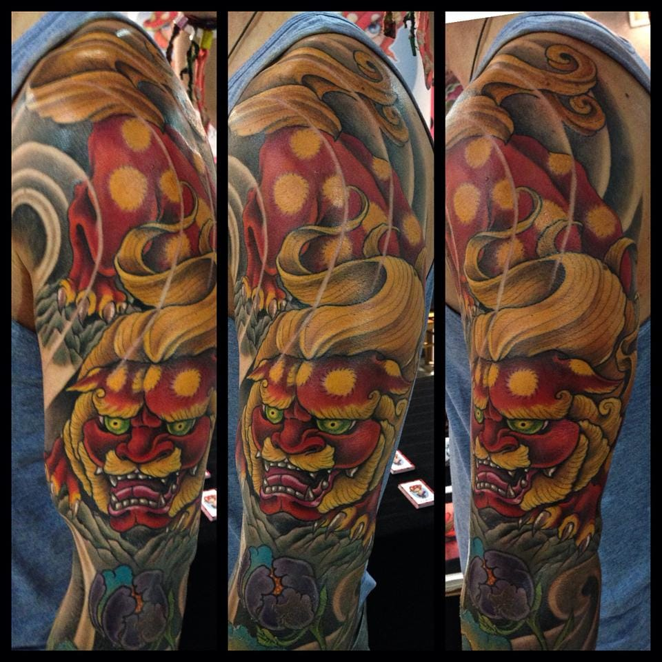 Badass sleeve by Matt Hart.