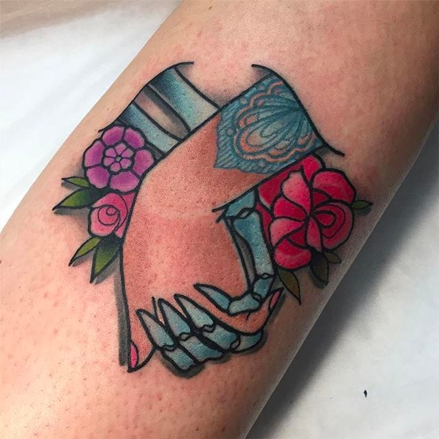 Tilly Dee's Glittering Neo-Traditional Tattoos