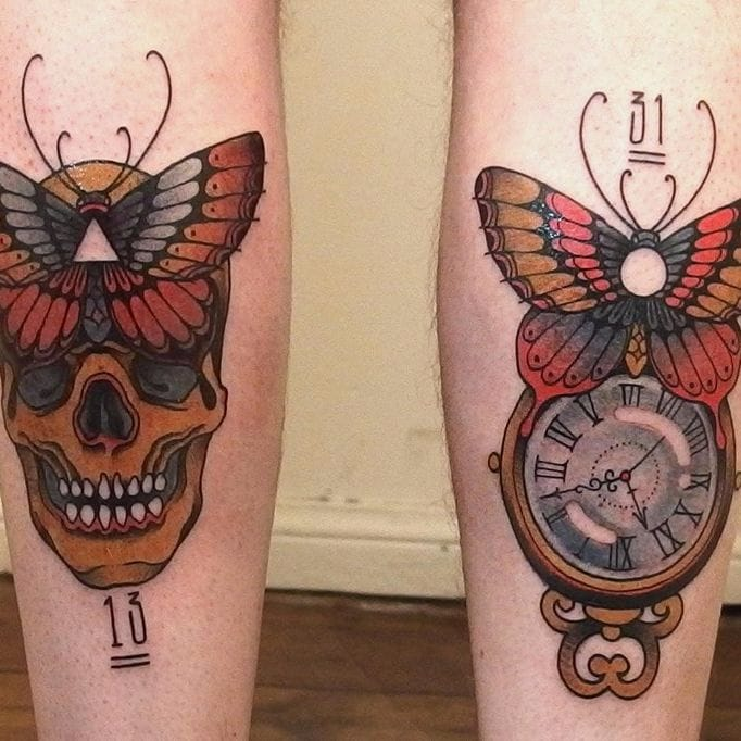 Surrealistic Traditional Tattoos by Victor Kludge
