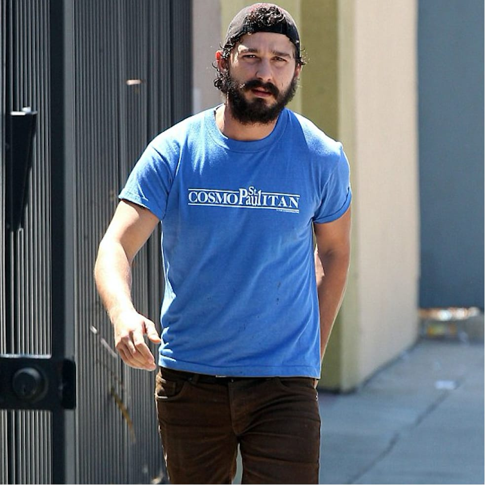 Shia LaBeouf and His Supa Dupa Fly New Tattoos