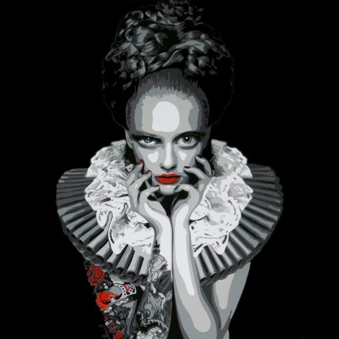 The Tattooed Art Goddesses of Juliette Clovis