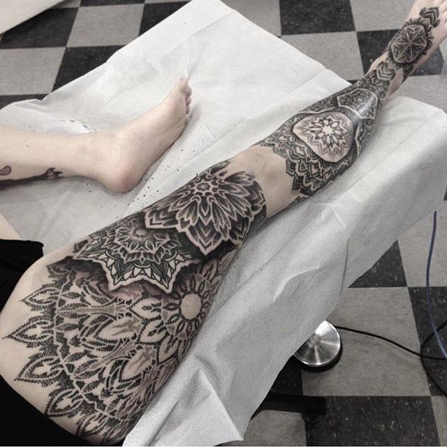 Nathan Mould's Beautiful Ornamental Blackwork