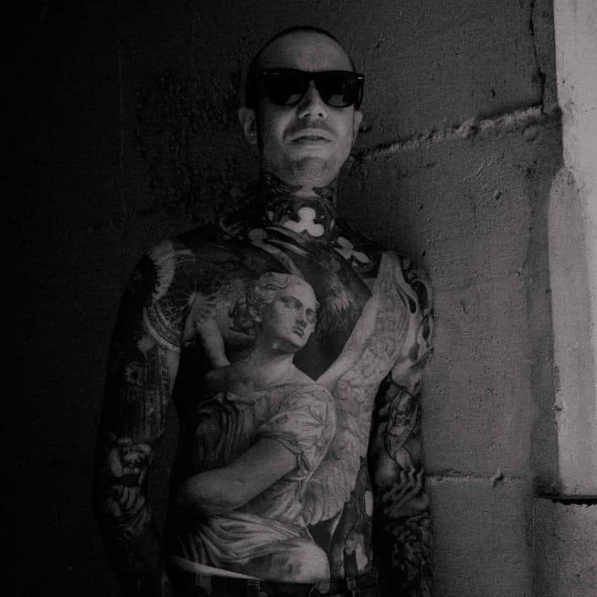 Gothic Black and Grey Tattoos by Giovanni Speranza