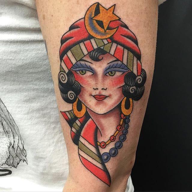 Daring and Striking Tattoos from Brad Stevens
