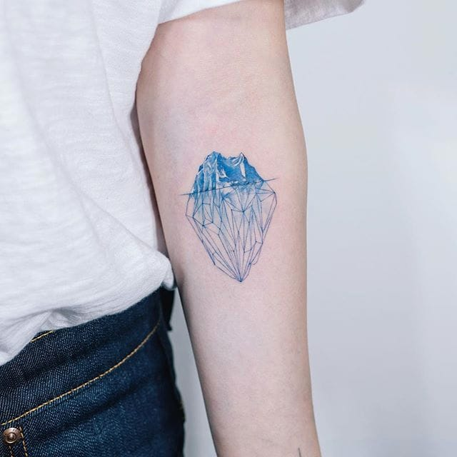 Surface and Depth: 15 Unsinkable Iceberg Tattoos