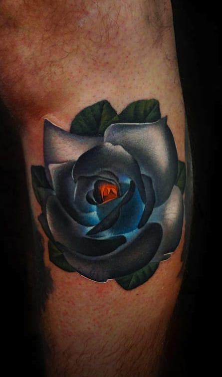 Rose that Glows.