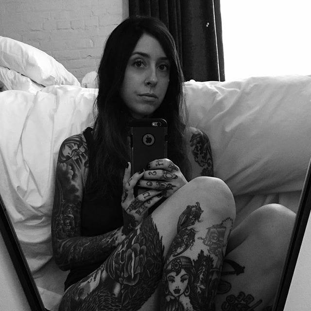 Alluring Blackwork Tattoos by Alexis Kaufman