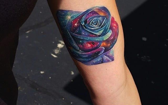 Galaxy rosemorph by Tyler Malek.