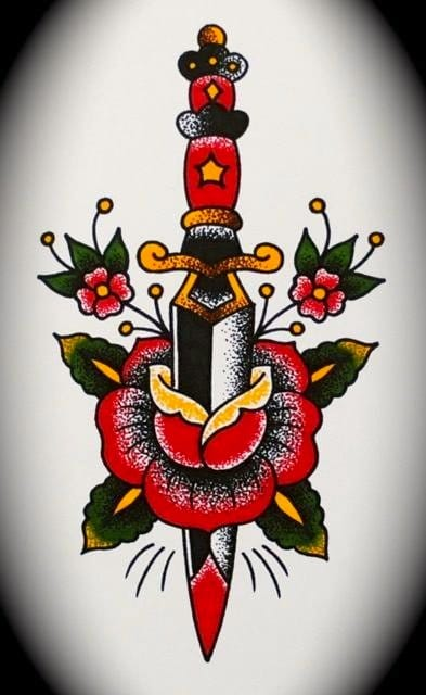 Which is better, heart and dagger or dagger and rose?