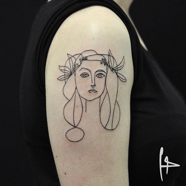 Illustrative Blackwork Tattoos by Harry Plane
